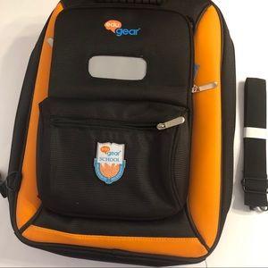Other - eduGear® School Backpack, NWOT, Black/Orange